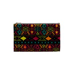 Bohemian Patterns Tribal Cosmetic Bag (small)  by BangZart