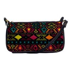 Bohemian Patterns Tribal Shoulder Clutch Bags by BangZart
