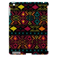 Bohemian Patterns Tribal Apple Ipad 3/4 Hardshell Case (compatible With Smart Cover)