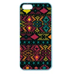 Bohemian Patterns Tribal Apple Seamless Iphone 5 Case (color) by BangZart