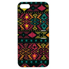Bohemian Patterns Tribal Apple Iphone 5 Hardshell Case With Stand