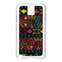 Bohemian Patterns Tribal Samsung Galaxy Note 3 N9005 Case (white)