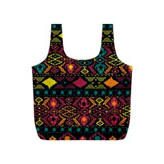 Bohemian Patterns Tribal Full Print Recycle Bags (s)  by BangZart