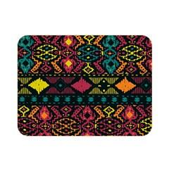 Bohemian Patterns Tribal Double Sided Flano Blanket (mini)