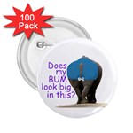 Rhino  Bum  2.25  Button (100 pack)