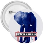 Blue Elephant  Protected  3  Button