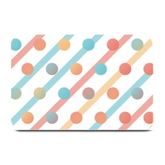 Simple Saturated Pattern Plate Mats by linceazul