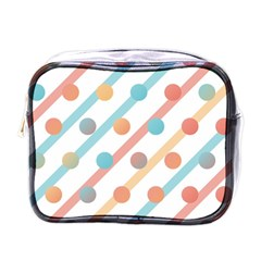 Simple Saturated Pattern Mini Toiletries Bags by linceazul