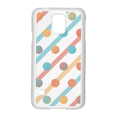 Simple Saturated Pattern Samsung Galaxy S5 Case (white) by linceazul