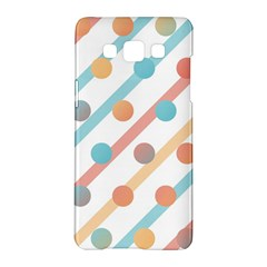 Simple Saturated Pattern Samsung Galaxy A5 Hardshell Case  by linceazul
