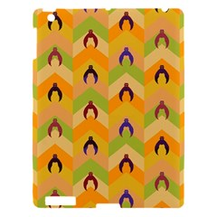 Funny Halloween   Bat Pattern 1 Apple Ipad 3/4 Hardshell Case by MoreColorsinLife