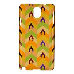 Funny Halloween   Bat Pattern 1 Samsung Galaxy Note 3 N9005 Hardshell Case by MoreColorsinLife