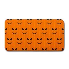 Funny Halloween   Face Pattern Medium Bar Mats by MoreColorsinLife