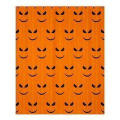 Funny Halloween   Face Pattern Shower Curtain 60  X 72  (medium)  by MoreColorsinLife