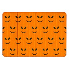 Funny Halloween   Face Pattern Samsung Galaxy Tab 8 9  P7300 Flip Case by MoreColorsinLife