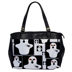 Funny Halloween   Ghost Pattern 2 Office Handbags by MoreColorsinLife