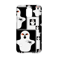 Funny Halloween   Ghost Pattern 2 Samsung Galaxy S5 Hardshell Case  by MoreColorsinLife
