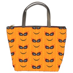 Funny Halloween   Face Pattern 2 Bucket Bags by MoreColorsinLife