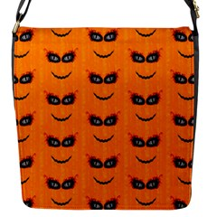 Funny Halloween   Face Pattern 2 Flap Messenger Bag (s) by MoreColorsinLife