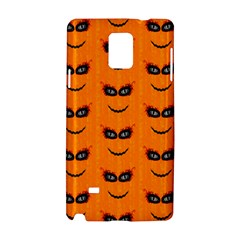 Funny Halloween   Face Pattern 2 Samsung Galaxy Note 4 Hardshell Case by MoreColorsinLife