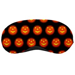 Funny Halloween   Pumpkin Pattern Sleeping Masks by MoreColorsinLife