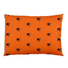Funny Halloween   Spider Pattern Pillow Case (two Sides) by MoreColorsinLife