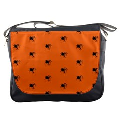 Funny Halloween   Spider Pattern Messenger Bags by MoreColorsinLife