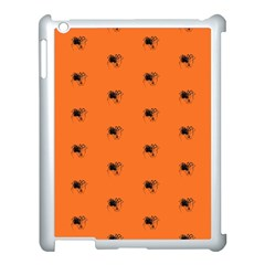 Funny Halloween   Spider Pattern Apple Ipad 3/4 Case (white) by MoreColorsinLife