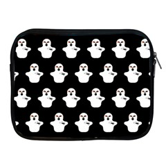 Funny Halloween   Ghost Pattern Apple Ipad 2/3/4 Zipper Cases by MoreColorsinLife