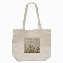 Shabby Chic Style Motivational Quote Tote Bag (cream) by dflcprints
