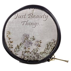 Shabby Chic Style Motivational Quote Mini Makeup Bags by dflcprints