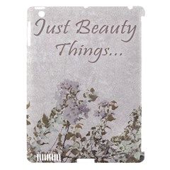 Shabby Chic Style Motivational Quote Apple Ipad 3/4 Hardshell Case (compatible With Smart Cover) by dflcprints