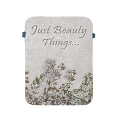 Shabby Chic Style Motivational Quote Apple Ipad 2/3/4 Protective Soft Cases by dflcprints