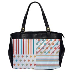 Simple Saturated Pattern Office Handbags by linceazul