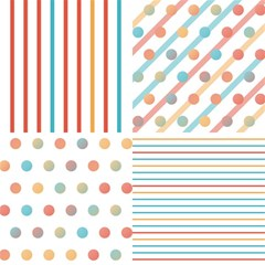 Simple Saturated Pattern Magic Photo Cubes by linceazul
