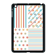 Simple Saturated Pattern Apple Ipad Mini Case (black) by linceazul