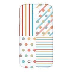 Simple Saturated Pattern Samsung Galaxy S4 I9500/i9505 Hardshell Case by linceazul