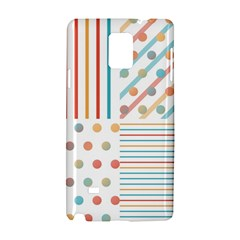 Simple Saturated Pattern Samsung Galaxy Note 4 Hardshell Case by linceazul