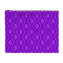Decorative Seamless Pattern  Cosmetic Bag (xl)