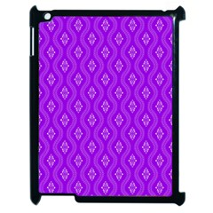 Decorative Seamless Pattern  Apple Ipad 2 Case (black)