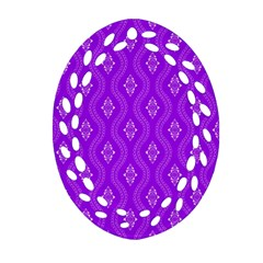 Decorative Seamless Pattern  Ornament (oval Filigree)