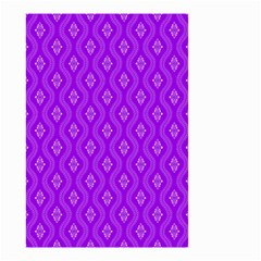 Decorative Seamless Pattern  Small Garden Flag (two Sides)