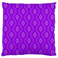 Decorative Seamless Pattern  Large Cushion Case (two Sides) by TastefulDesigns