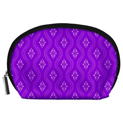 Decorative Seamless Pattern  Accessory Pouches (large)