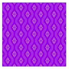 Decorative Seamless Pattern  Large Satin Scarf (square) by TastefulDesigns
