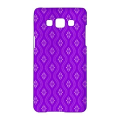 Decorative Seamless Pattern  Samsung Galaxy A5 Hardshell Case  by TastefulDesigns
