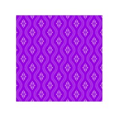Decorative Seamless Pattern  Small Satin Scarf (square) by TastefulDesigns