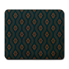 Ornamental Pattern Background Large Mousepads