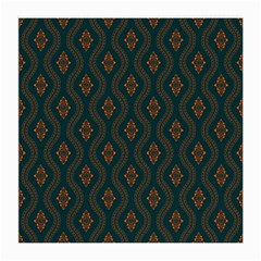 Ornamental Pattern Background Medium Glasses Cloth (2 Side)