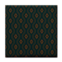 Ornamental Pattern Background Face Towel